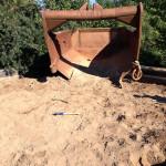 Песочница с янтарем