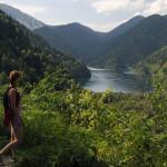 Озеро Рица, северная часть