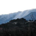 Облака на горах