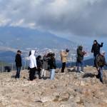 Группа туристов на Ай-Петри
