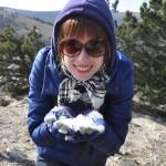 Снег на Ай-Петри найден
