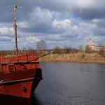 Красное судно