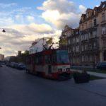 Улицы Гданьска. Трамвай