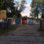 Улицы Гданьска. Граффити