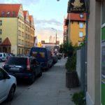 Улицы Гданьска. Жабка