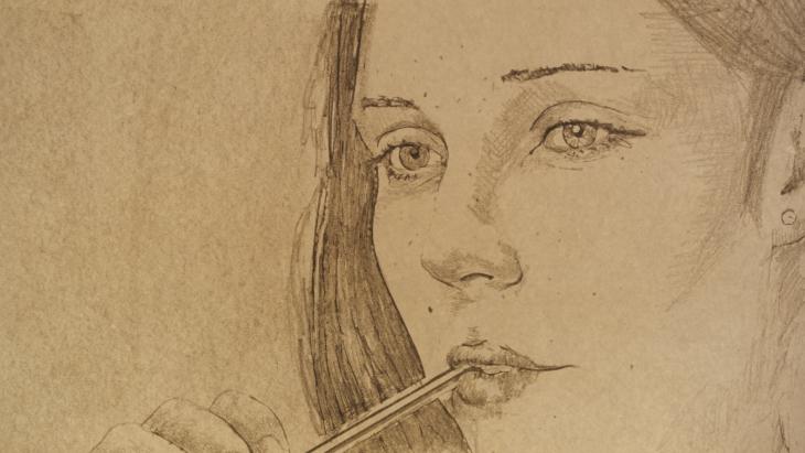 Je suis un crayon
