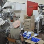 На производстве чая
