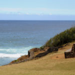 Скамейка у океана