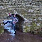 Маленький проход в крепостной стене