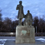 Памятник А.С.Пушкину и его няне