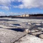 Лёд уходит с Невы