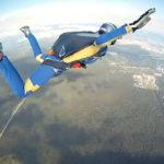 Прыжок с парашютом над КАДом