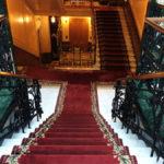 Спуск к главной лестнице