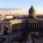 Казанский собор, вид сверху
