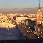 Невский проспект с крыши