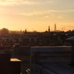 Вид с крыши - Лахта-центр, Дворцовая площадь