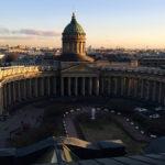Казанский собор с колоннадой