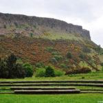 Arthur's seat в Эдинбурге