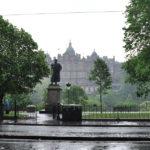 В Эдинбурге дождь