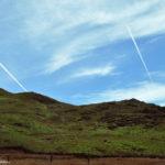 Шлейфы самолётов