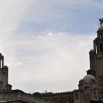 Птицы на куполах в Ливерпуле