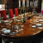 Обеденный стол во дворце Мальборо