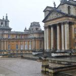 Дворец Бленем под дождём