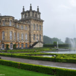 В парке у дворца Бленем