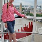 В кабине Лондонского глаза