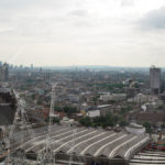 Крыши Лондона сверху