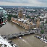 Здание Парламента с Лондонского глаза
