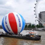 Темза и Лондонский глаз