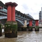 Опоры старого моста