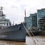 Корабль на Темзе