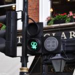 Значок на светофоре