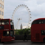 Лондонский глаз и автобусы
