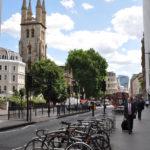 Велосипеды на улицах Лондона