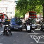 Мотоциклисты в Лондоне