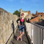 На крепостной стене Йорка