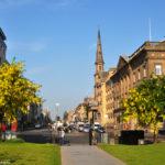 Цветущий Эдинбург