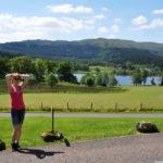 Горное озеро в Шотландии