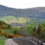 Горы Шотландии у озера Лох-Несс