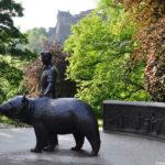 Памятник в парке на Принцесс-стрит