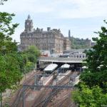 Железная дорога в Эдинбурге