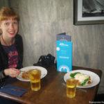 Обед в Баунессе