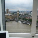 В кабинке Лондонского глаза