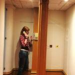 Телефонная будка в отеле