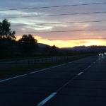 Закат в Хайлэндс