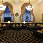 Холл в гостинице