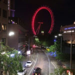 Red London eye